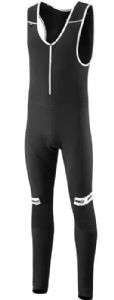 Madison Sportive Shield Softshell Mens Bib Tights With Pad 2017 - Dual fabric construction features a waterproof and windproof softshell fabric
