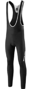 Madison Sportive Fjord Dwr Mens Bib Tights With Pad - Durable water repellent coating helps the fabric bead off the rain keeping you dryer