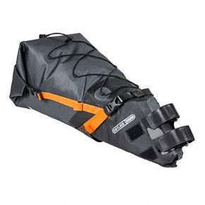 Ortlieb Bikepacking Seatpack - In extended touring this tough rear pannier shows what its made for