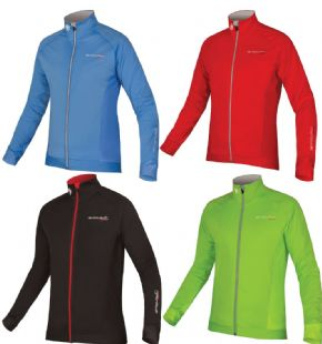 Endura Fs260- Pro Jetstream Long Sleeve Jersey - Windproof front and sleeve panels with DWR finish