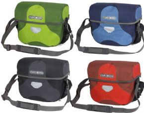 Ortlieb Ultimate 6 Plus Medium Bar Bag - This waterproof handle bar bag is the perfect storage for maps papers wallet etc