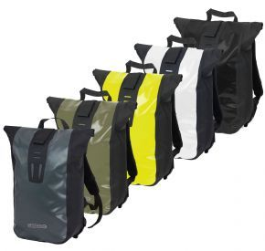 Ortlieb Velocity Backpack - Ortlieb's compact messenger bag doubles as an daysack and waterproof commuter pack