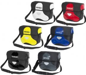 Ortlieb Ultimate 6 Classic Medium Bar Bag - Lockable mounting set ensures stability and safety