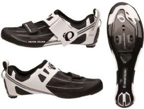 Pearl Izumi Tri Fly Elite V6 Road Shoes  - Advanced 3-Layer Seamless Composite Upper offers exceptional breathability