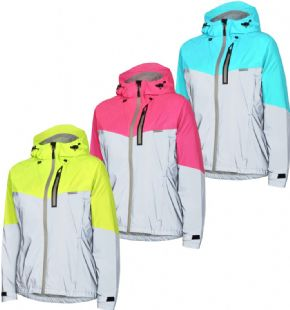 Madison Stellar Reflective Womens Waterproof Jacket  2018 - Whether it's used as a lightweight barrier jacket or packed away in your jersey pocket