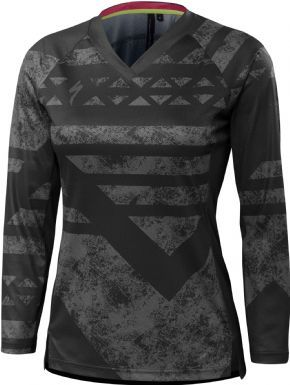 Specialized Andorra Womens Long Sleeve Jersey 2018 - Tackling the trail with the throttle wide open you're bound to take a few spills