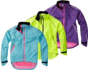Madison Prima Womens Waterproof Jacket - DTE waterproof short keeps you on the trails no matter what the weather