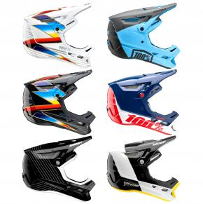 100% Aircraft Composite Full Face Downhill Helmet  2021 -
