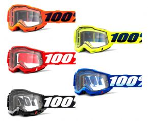 100% Accuri 2 Enduro Mtb Goggles With Vented Lens 2021 -