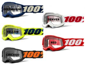 100% Accuri 2 Youth Clear Lens Goggles  2021 -