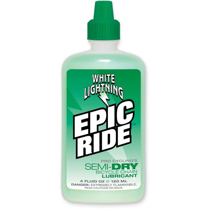White Lightning Epic All Condition/semi Dry Lube 4oz/120ml | Rengøring og smøremidler