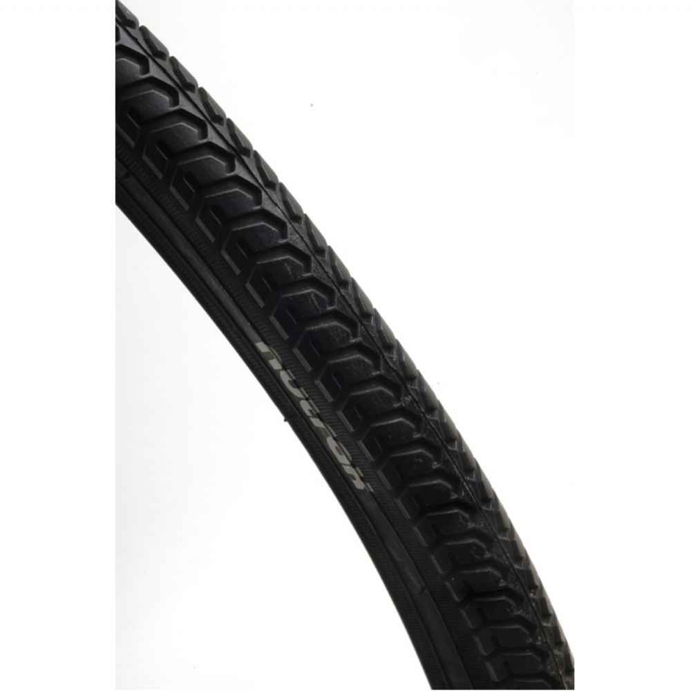 Nutrak 27 x 1-1 / 4 inch Traditional tyre black - Free Tube | Tyres