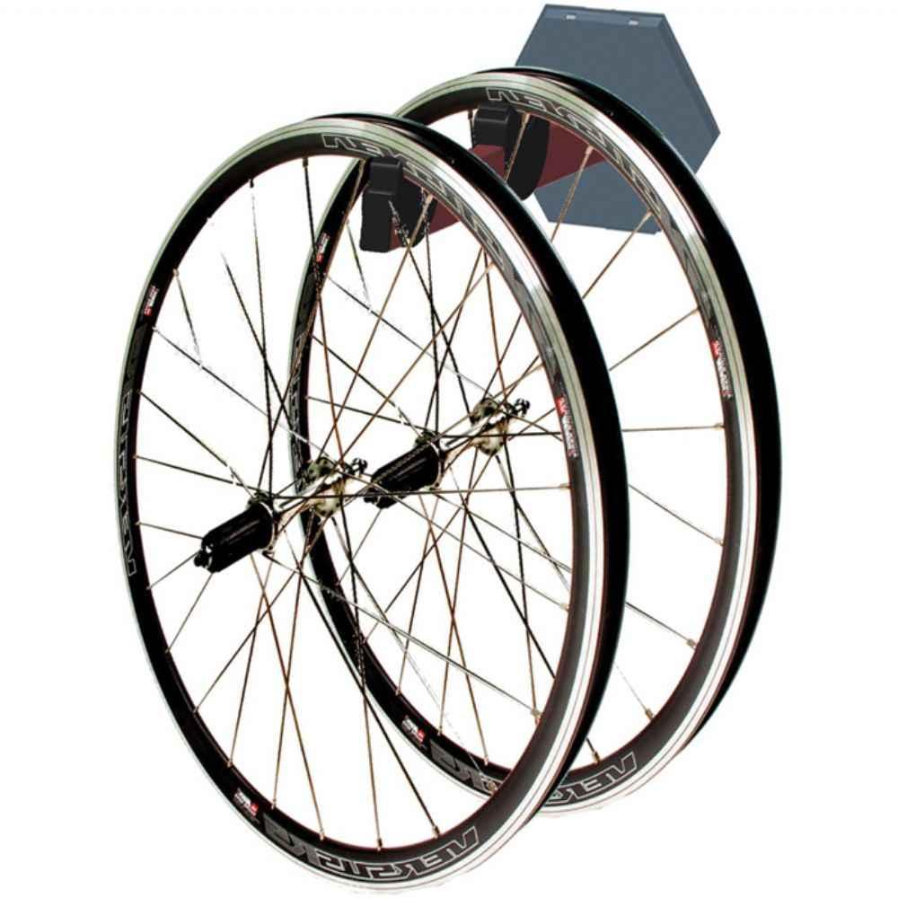 Gear Up Platinum 2 Wheel Storage Wall Rack   Wheelset