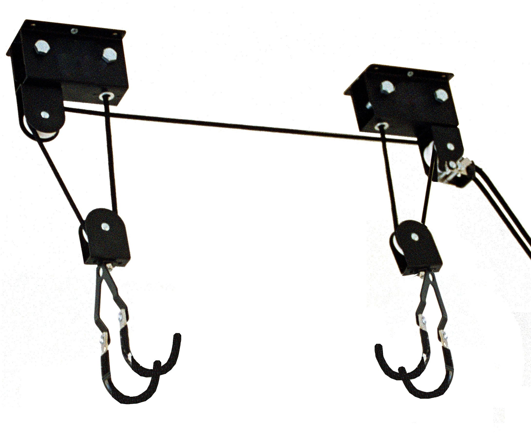 Gear Up Up-and-away Deluxe Hoist System With Accessory Straps (100 Lb Capacity)   bike_storage_hanger_component