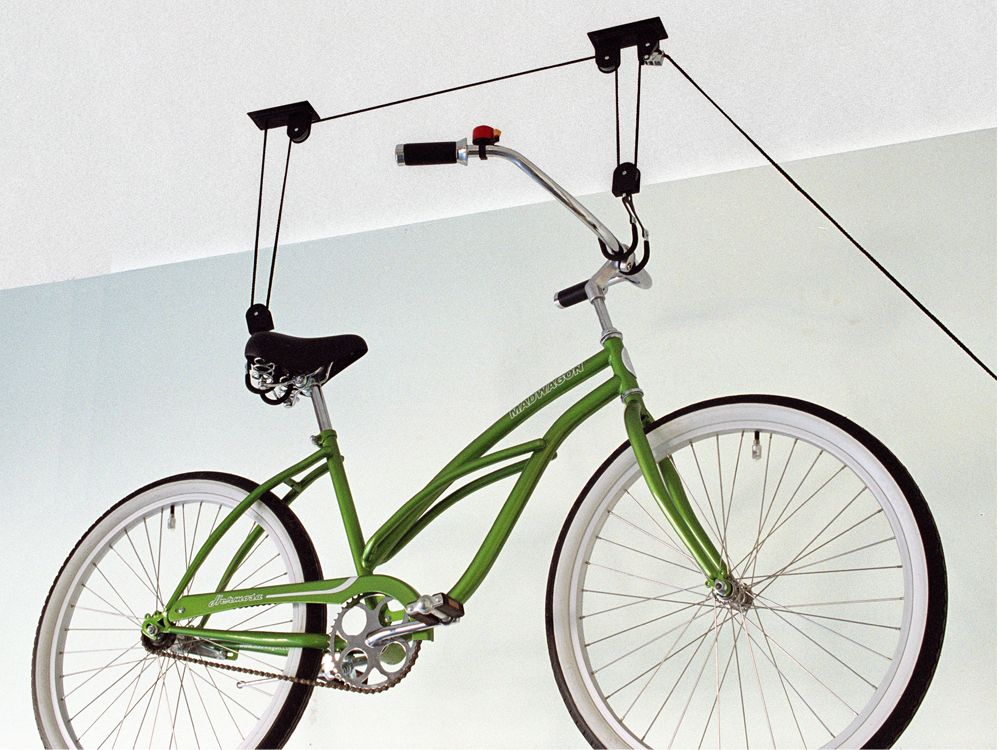 Gear Up Up-and-away Hoist System 50 Lb Capacity   bike_storage_hanger_component