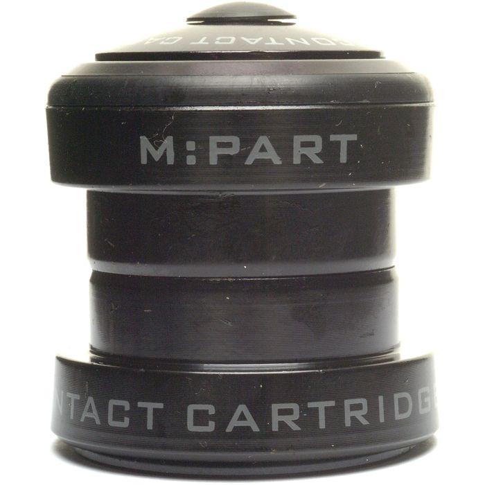 M:part In-line Lo-profile Threadless Headset 1-1 / 8 Inch Black | Styrfittings