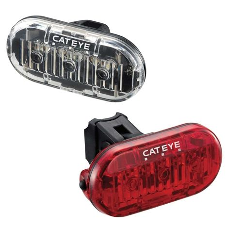 Cateye Omni 3 Led Front And Rear Cycle Lightset 2018 | Light Set