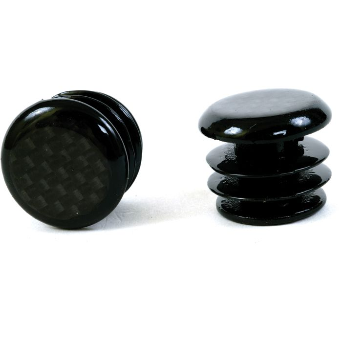 M:part Carbon Fibre Bar End Plugs For Road Bikes | Bar tape