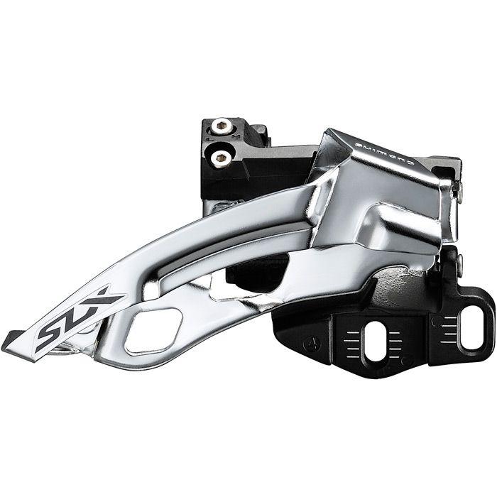 Shimano Slx M7005-e Triple 10-spd Front Derailleur E-type Mount Top Swing Dual-pull | Forskiftere