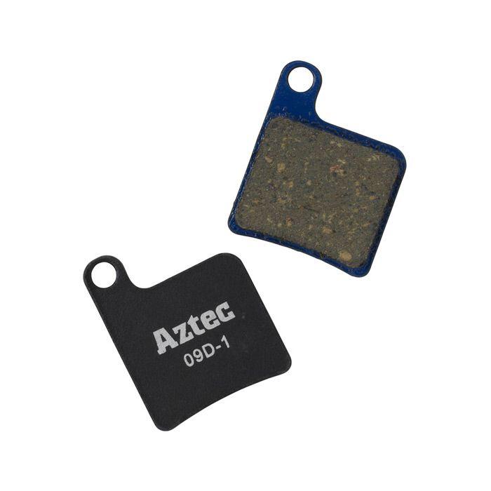 Aztec Organic Disc Brake Pads For Shimano Flat Mount Callipers | Brake pads