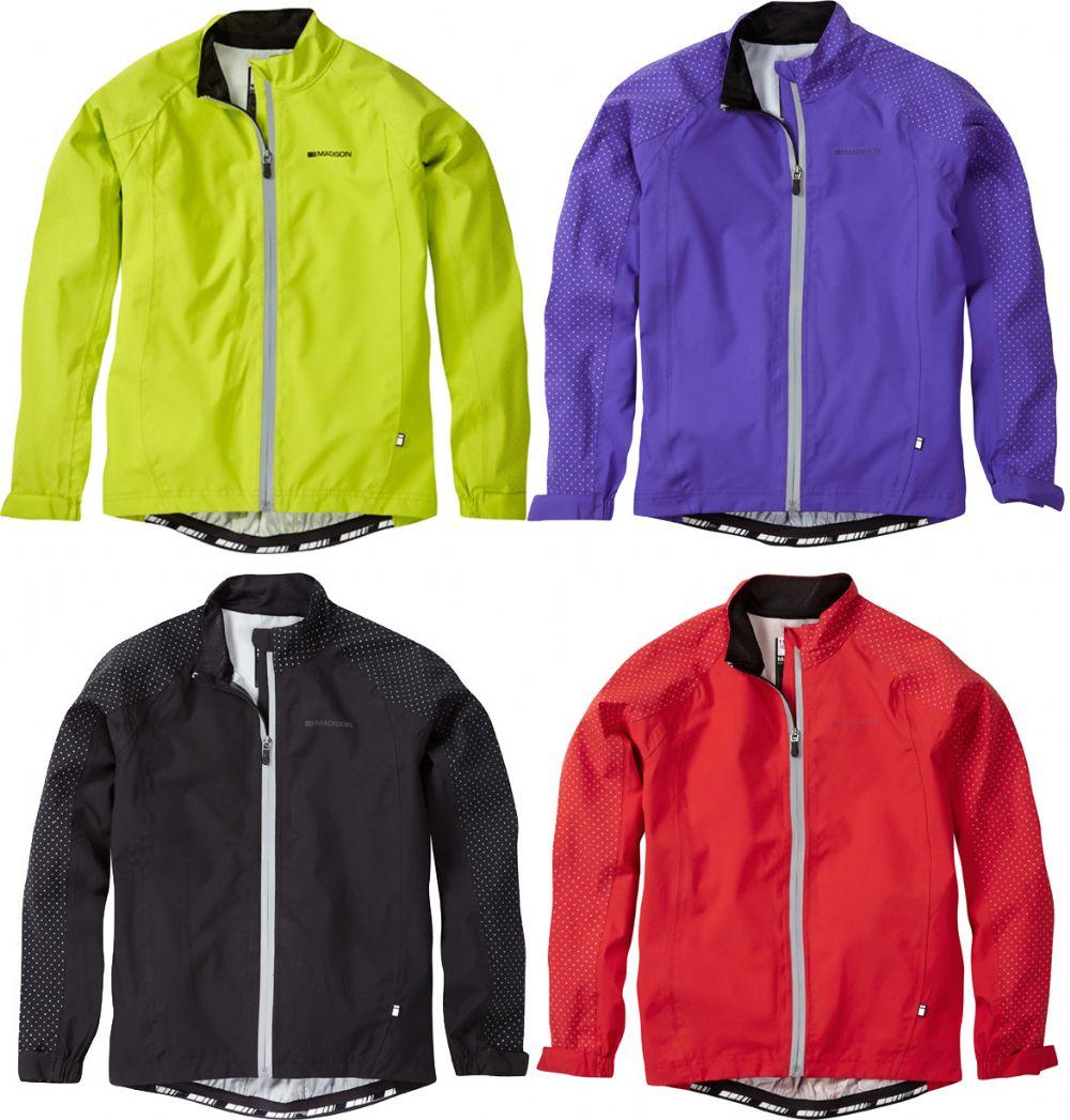 Madison Sportive Hi-viz Youth Waterproof Jacket | Shoes and overlays