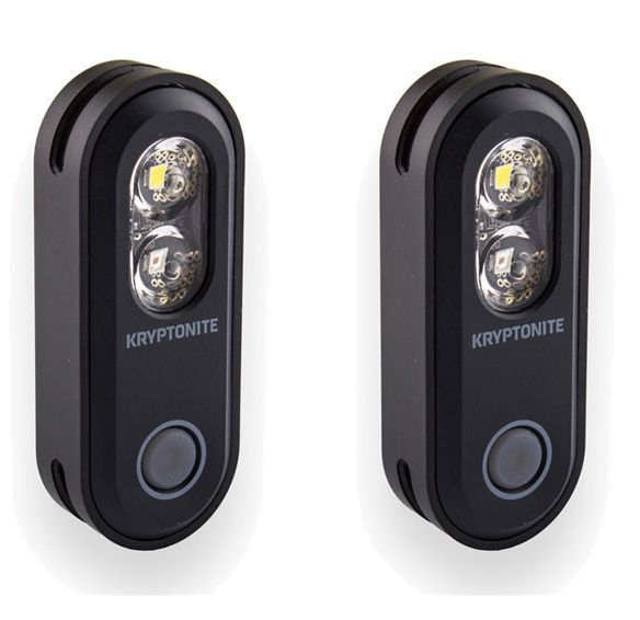 Kryptonite Avenue F-70/r-35 Dual Set Usb 2-in-1 Light Set 2018 | Computer Battery and Charger