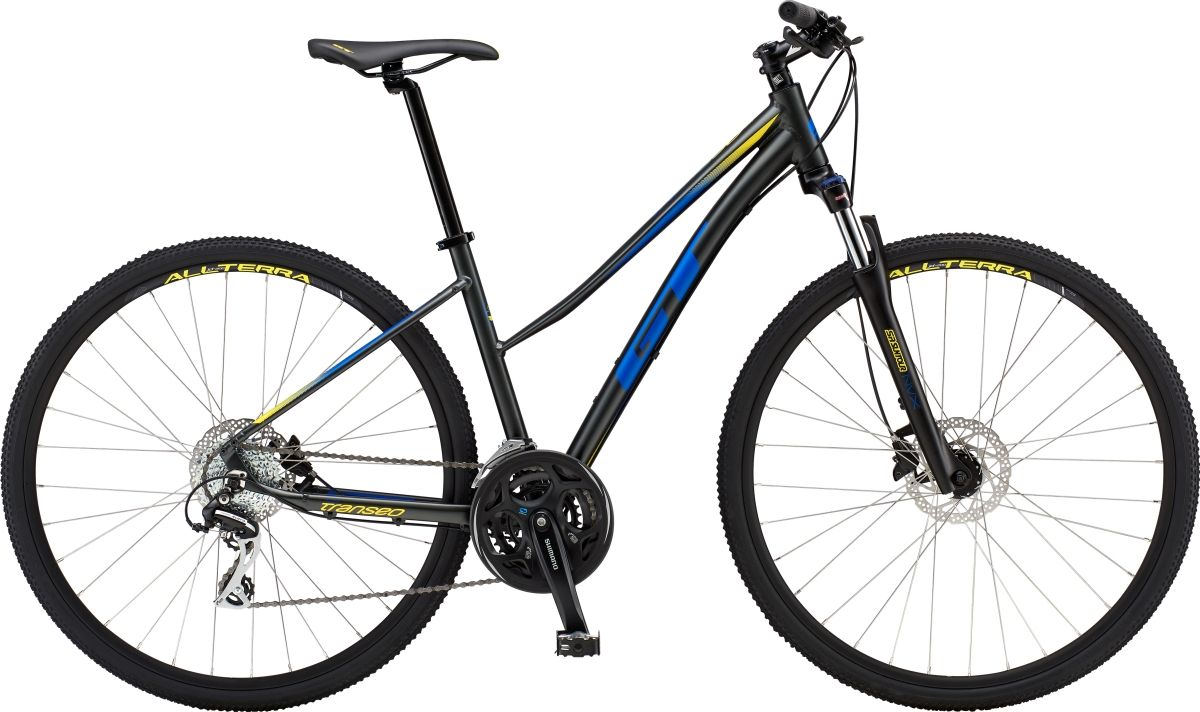 Gt Transeo Elite Womens Sports Hybrid Bike 2019 | City-cykler