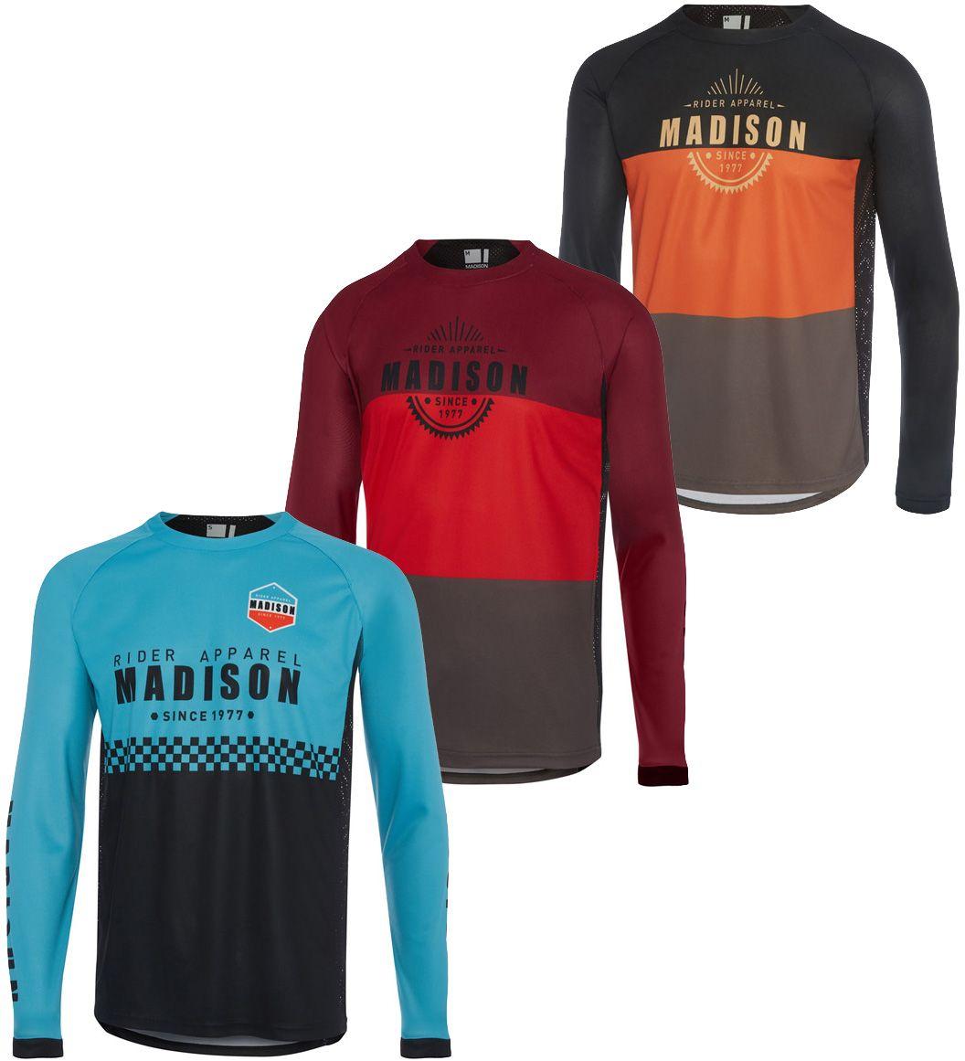Madison Alpine Long Sleeve Jersey 2019 | Jerseys
