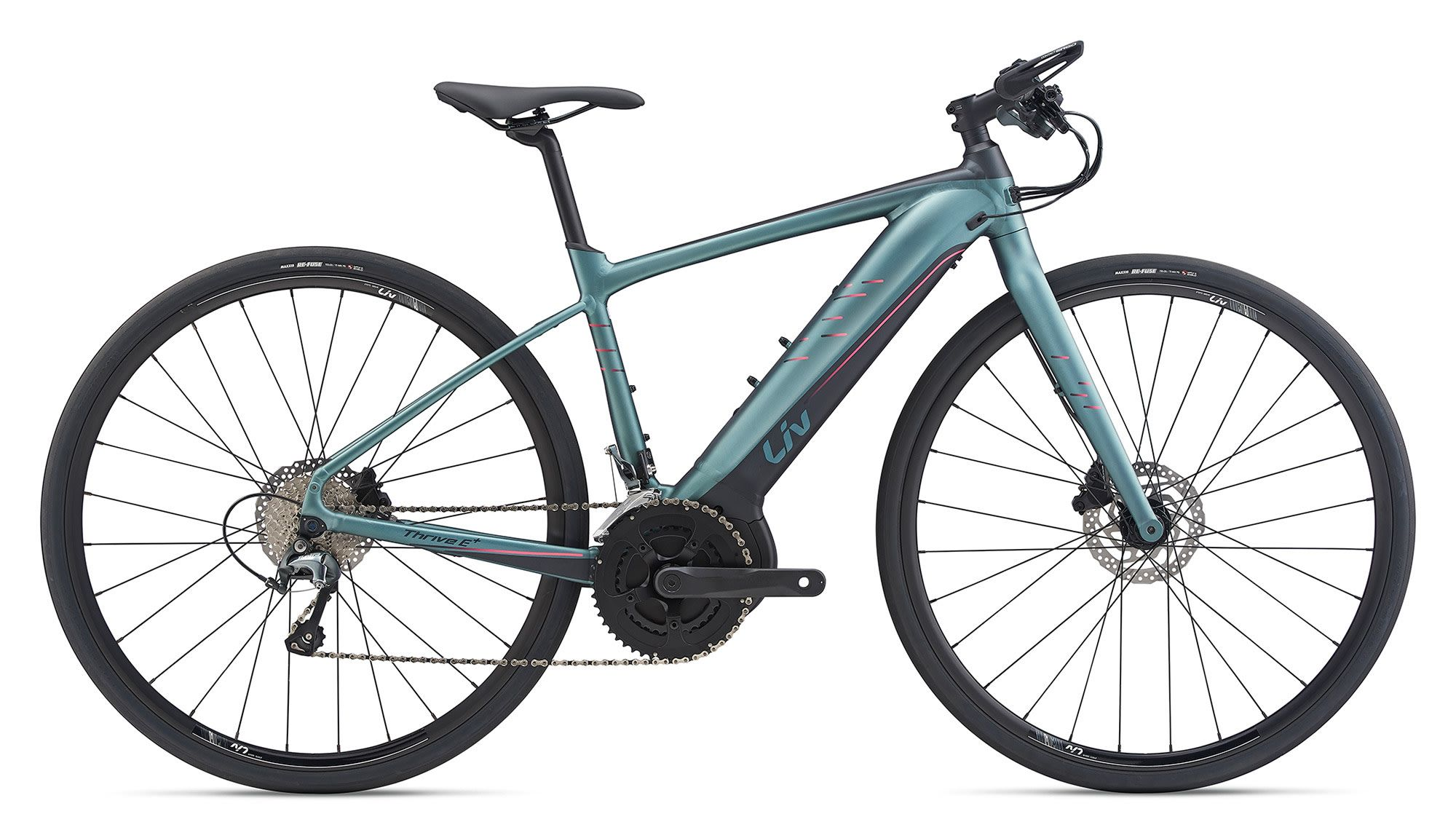 Giant Liv Thrive E+ 2 Pro Womens Electric Road Bike 2020 | City-cykler