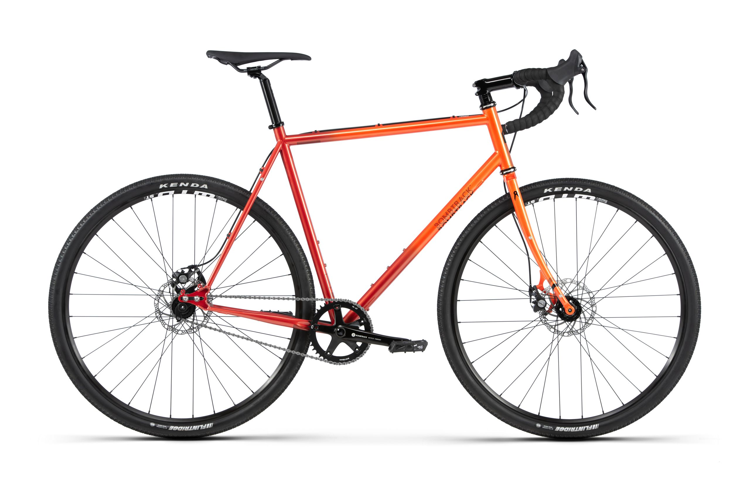 Bombtrack Arise 2 Orange Fade Sports Hybrid Bike 2020 | City
