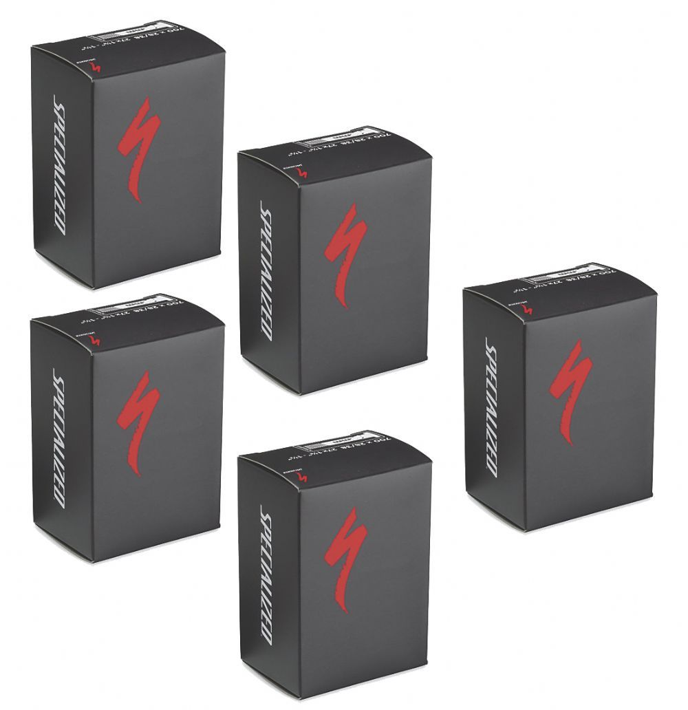 Specialized Mtb Inner Tubes 27.5/650b X 20/28 Thin LVS 48mm Presta Valve Pack Of 5 | Tubes