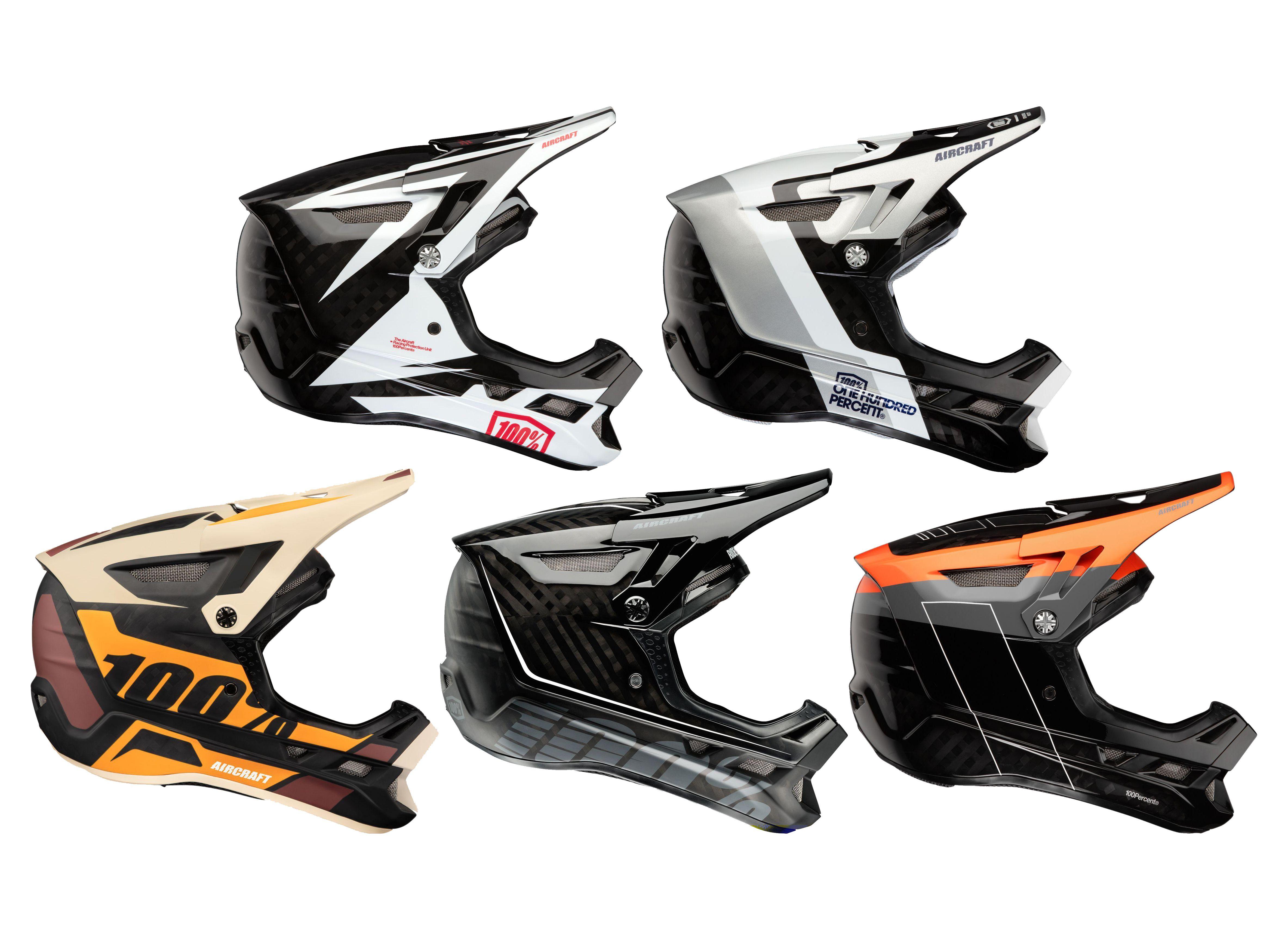 100% - Aircraft Carbon | bike helmet