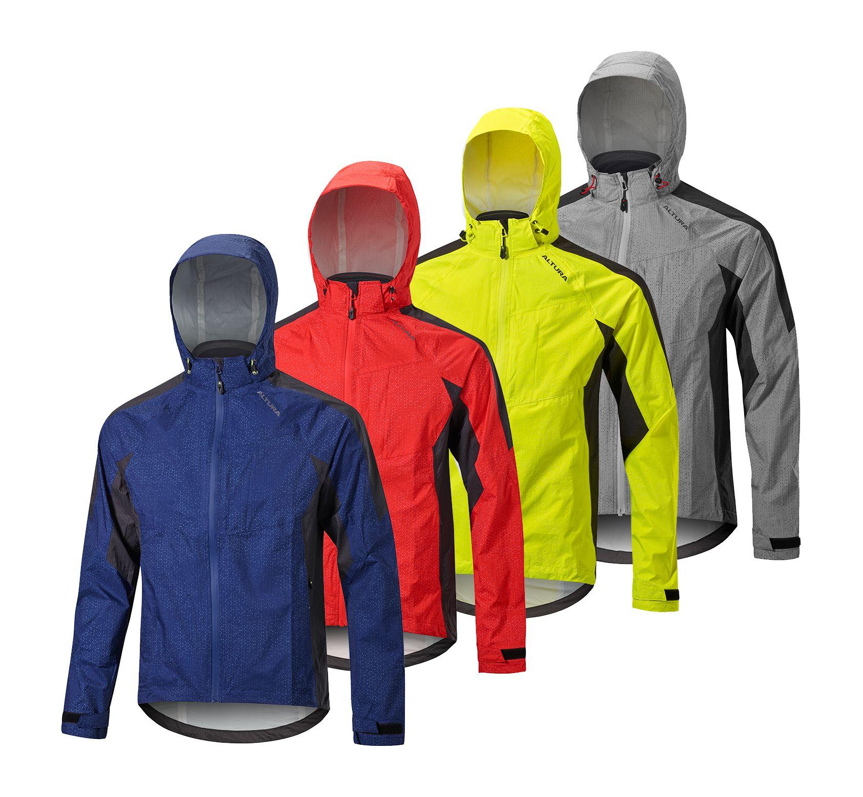 Altura Nightvision Tornado Jacket - Hi-Viz Yellow - XL, Hi-Viz Yellow | cykeljakke